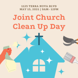 Joint Church Clean Up Day