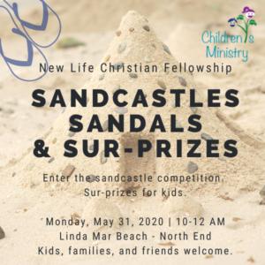 Postponed – Sandcastles…